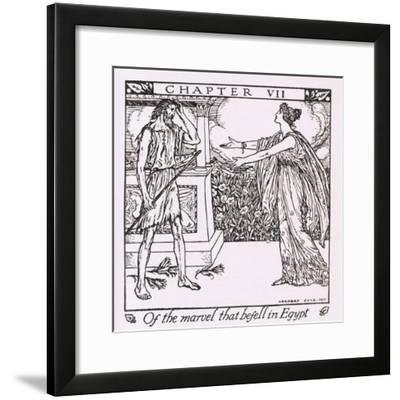 Of the Marvel That Befell in Egypt-Herbert Cole-Framed Giclee Print