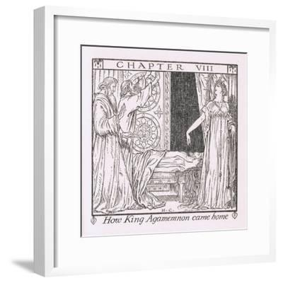 How King Agamemnon Came Home-Herbert Cole-Framed Giclee Print