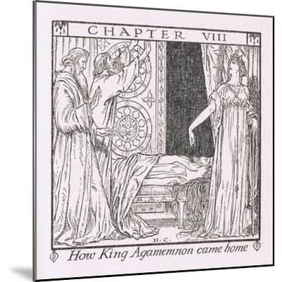 How King Agamemnon Came Home-Herbert Cole-Mounted Giclee Print