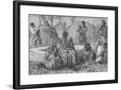 Types of Emin's People, from 'Emin Pasha and the Rebellion at the Equator', 1890-Henry Morton Stanley-Framed Giclee Print