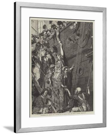 Eastward, Ho August 1857-Henry O'Neill-Framed Giclee Print