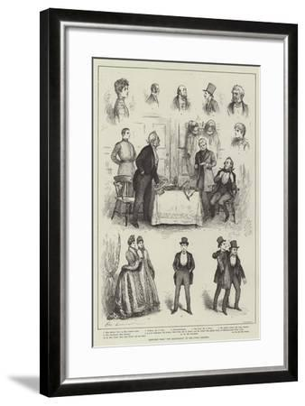 Sketches from The Magistrate at the Court Theatre-Henry Stephen Ludlow-Framed Giclee Print