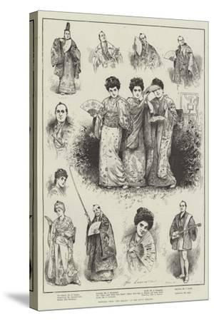 Sketches from The Mikado at the Savoy Theatre-Henry Stephen Ludlow-Stretched Canvas Print