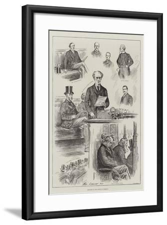Sketches in the House of Commons-Henry Stephen Ludlow-Framed Giclee Print