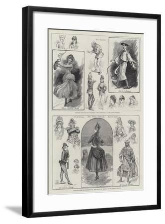 Theatre in London-Henry Stephen Ludlow-Framed Giclee Print