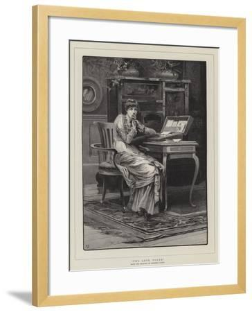 The Love Token-Herbert Gandy-Framed Giclee Print