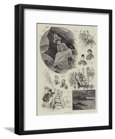 Sketches at Ilfracombe-Henry Stephen Ludlow-Framed Giclee Print