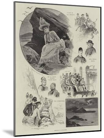 Sketches at Ilfracombe-Henry Stephen Ludlow-Mounted Giclee Print