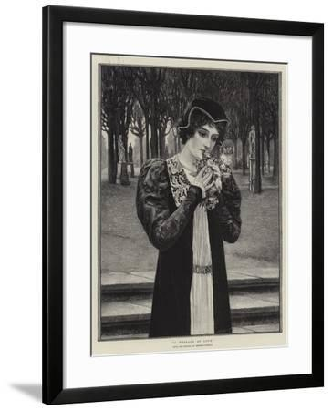 A Message of Love-Herbert Gustave Schmalz-Framed Giclee Print