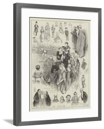 Juvenile Fancy-Dress Ball at the Mansion House-Henry Stephen Ludlow-Framed Giclee Print