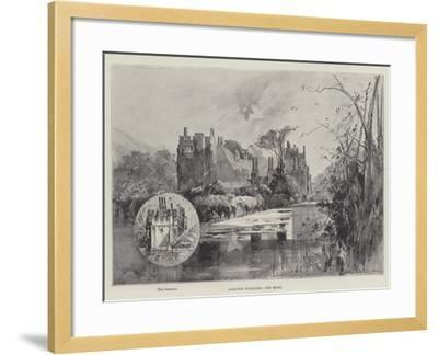 Compton Wynyates, the Moat-Herbert Railton-Framed Giclee Print