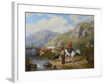 Wayside Gossip, 1846-Isaac Henzell-Framed Giclee Print