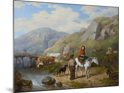Wayside Gossip, 1846-Isaac Henzell-Mounted Giclee Print