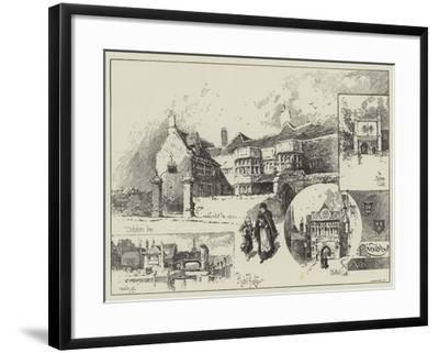 Round About Norwich-Herbert Railton-Framed Giclee Print