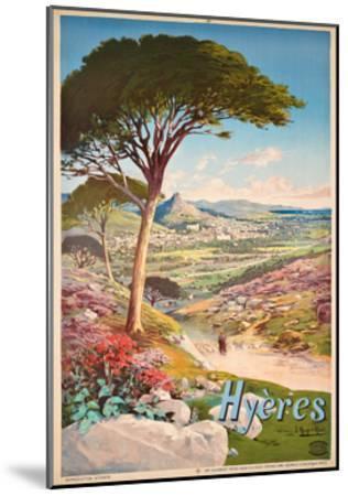 Poster Advertising Hyeres, France, 1900-Hugo D' Alesi-Mounted Giclee Print