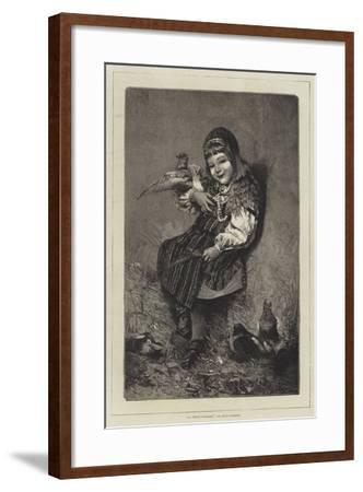 La Petite Suedoise-Hugo Salmson-Framed Giclee Print