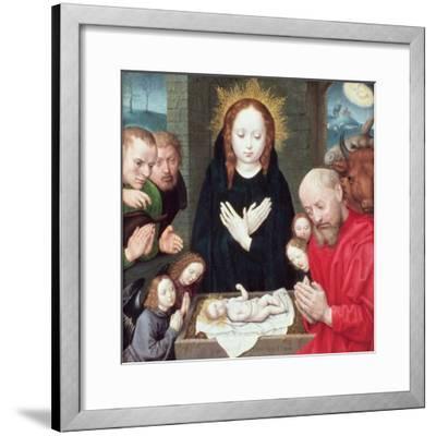 Adoration of the Shepherds-Hugo van der Goes-Framed Giclee Print