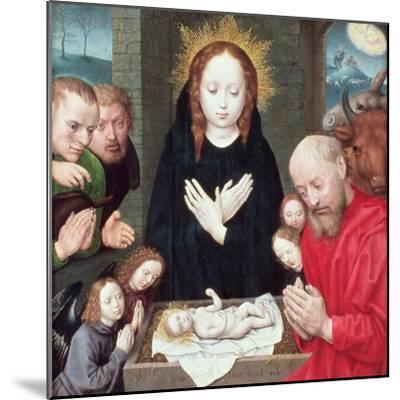 Adoration of the Shepherds-Hugo van der Goes-Mounted Giclee Print