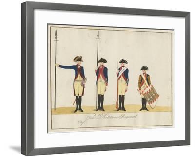 Field Artillery Regiment, C.1784-J. H. Carl-Framed Giclee Print