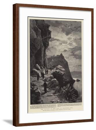 The Convent of Mar Saba on Christmas Eve-Herman David Salomon Corrodi-Framed Giclee Print