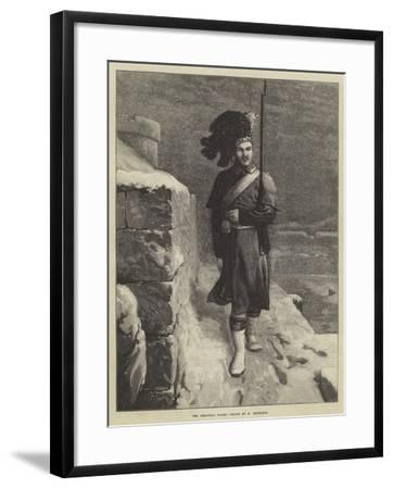 The Christmas Watch-Horace Petherick-Framed Giclee Print