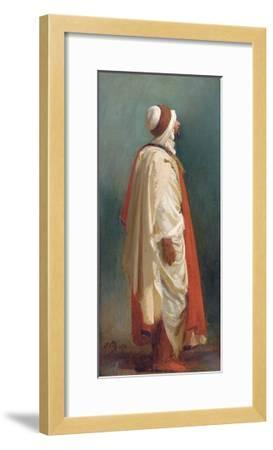 Study of an Arab Standing-Isidore Pils-Framed Giclee Print