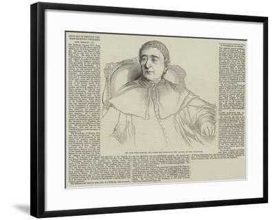 Obituary of Eminent Persons Recently Deceased-Hippolyte Delaroche-Framed Giclee Print