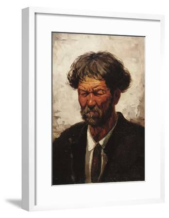 Portrait of a Man-Ilya Efimovich Repin-Framed Giclee Print