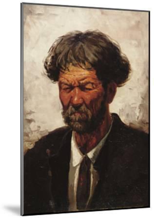 Portrait of a Man-Ilya Efimovich Repin-Mounted Giclee Print
