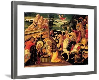 The Adoration of the Magi, 1500-25-Ioannis Permeniates-Framed Giclee Print