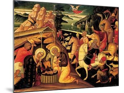 The Adoration of the Magi, 1500-25-Ioannis Permeniates-Mounted Giclee Print