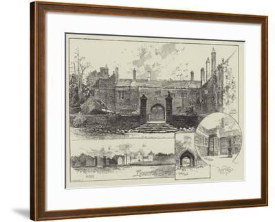Hoghton Tower in Lancashire-Herbert Railton-Framed Giclee Print