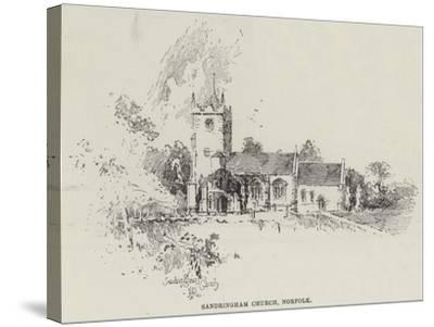 Sandringham Church, Norfolk-Herbert Railton-Stretched Canvas Print