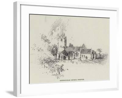 Sandringham Church, Norfolk-Herbert Railton-Framed Giclee Print