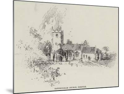 Sandringham Church, Norfolk-Herbert Railton-Mounted Giclee Print