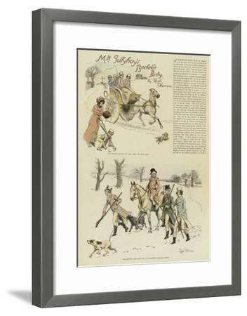Mr Jollyboy's Bachelor Party-Hugh Thomson-Framed Giclee Print