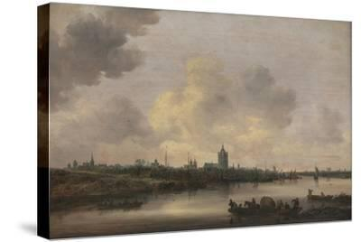 View of the City of Arnhem, 1646-Jan Van Goyen-Stretched Canvas Print