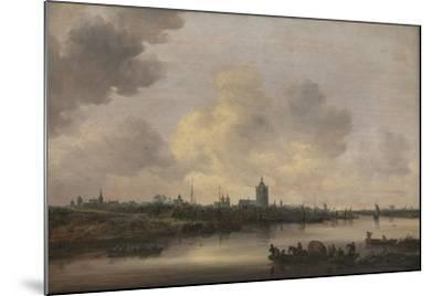 View of the City of Arnhem, 1646-Jan Van Goyen-Mounted Giclee Print