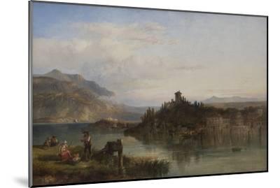 Morning on Lake Garda, Italy, 1861-James Vivien de Fleury-Mounted Giclee Print