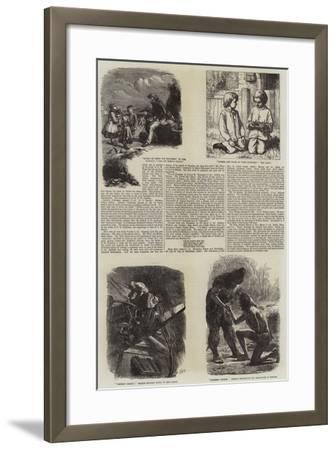 Literary Illustrations-James Dawson Watson-Framed Giclee Print