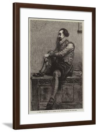 A Train of Thought-James Dawson Watson-Framed Giclee Print