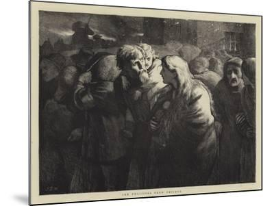 The Fugitives from Chicago-James Dawson Watson-Mounted Giclee Print