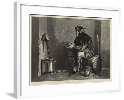 Friends in Council-James Dawson Watson-Framed Giclee Print