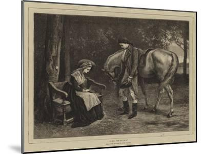 The Meeting-James Dawson Watson-Mounted Giclee Print