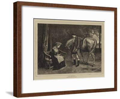 The Meeting-James Dawson Watson-Framed Giclee Print