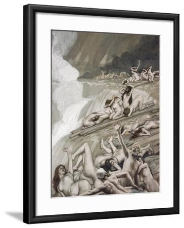 The Deluge-James Jacques Joseph Tissot-Framed Giclee Print
