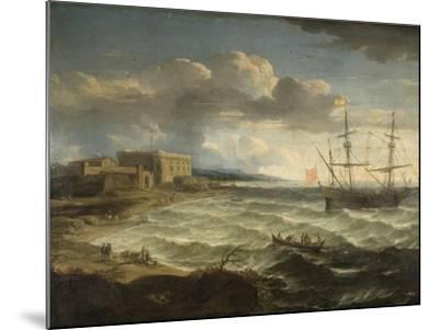 Coast Scene - the Debarkation-Jacob Appel-Mounted Giclee Print