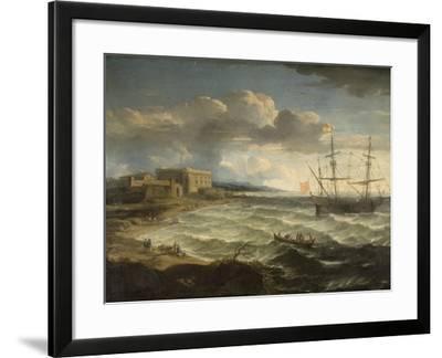 Coast Scene - the Debarkation-Jacob Appel-Framed Giclee Print