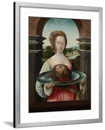 Salome with the Head of John the Baptist, 1524-Jacob Cornelisz van Oostsanen-Framed Giclee Print
