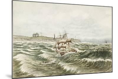 Rescue Off Tynemouth-James Henry Cleet-Mounted Giclee Print